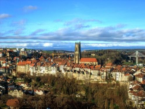 Der Blick von der Lorette-Kapelle für das Postkartenfoto.