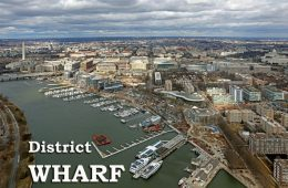 After more than a decade of planning and building, the Wharf is set to open next month.