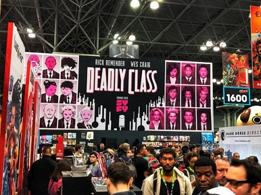 Deadly Class Booth at NYCC