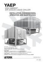 buku manual unit yaep reciprocating chiller merk york teknisi rh teknisichiller wordpress com york reciprocating chiller service manual Centrifugal Chillers How They Work