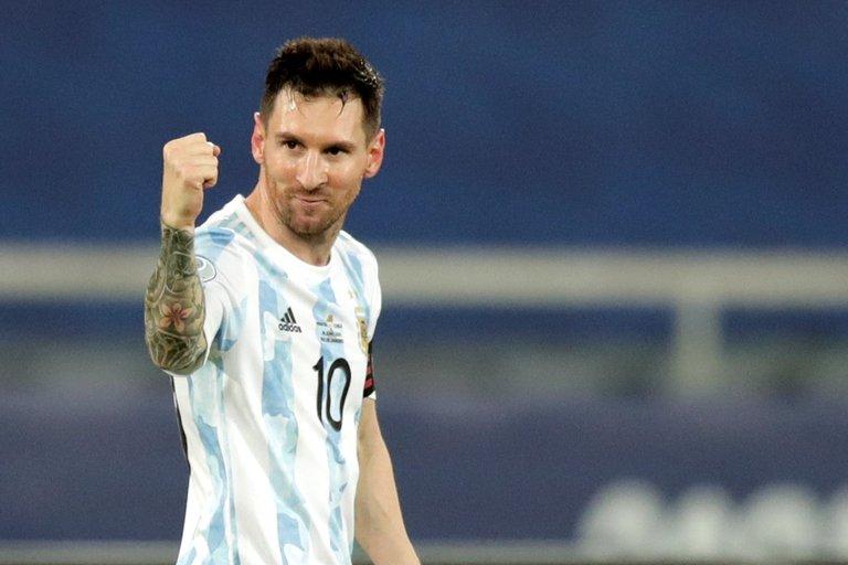 Histórico: Lionel Messi se convirtió en el futbolista con más presencias en la selección argentina