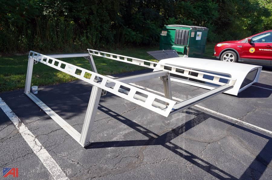 system one aluminum ladder rack
