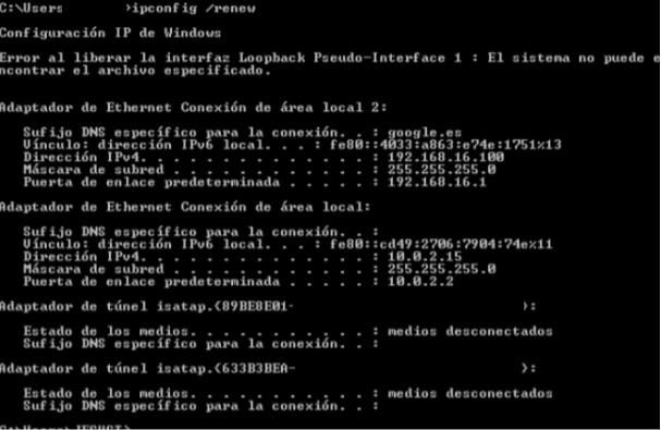 Imagen 2 en Cómo habilitar y configurar un Servidor DHCP