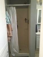 existing shower shower stall