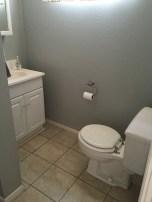 existing toilet area
