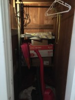 closet in second bedroom