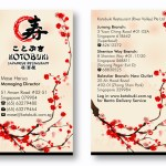 Elegant Playful Advertisement Design Job Advertisement Brief For Kotobuki Restaurant River Valley Pte Ltd A Company In Singapore
