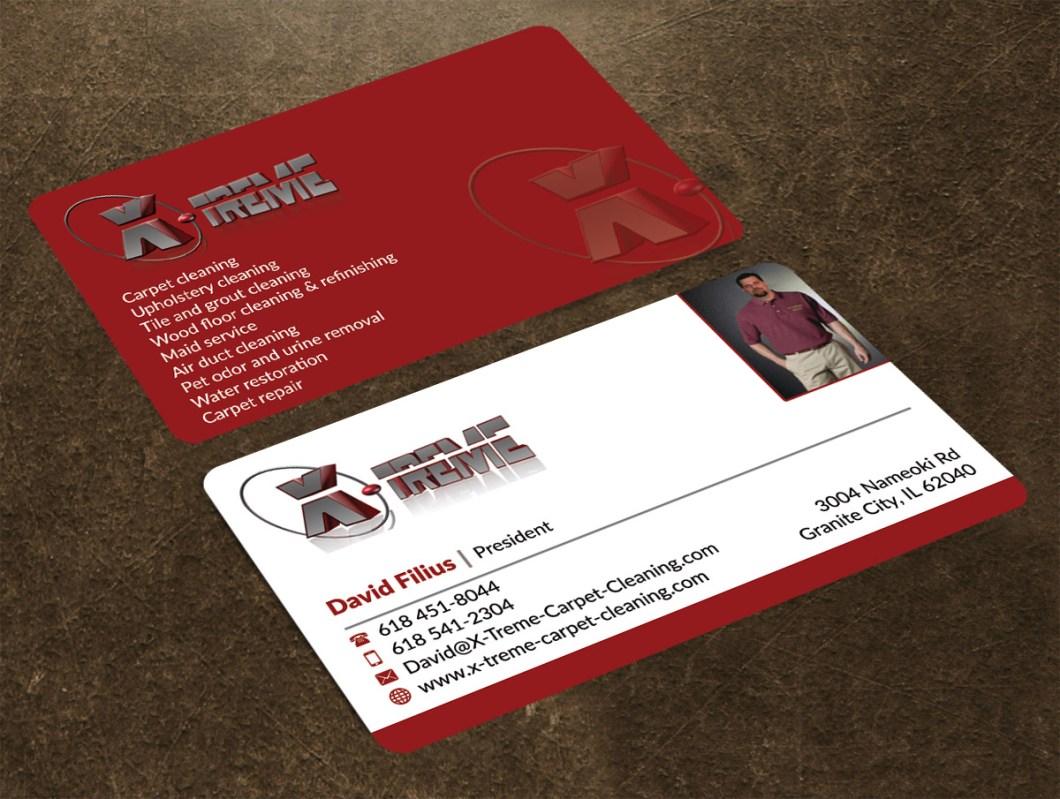 Carpet Cleaning Logos Business Cards - Acai Sofa