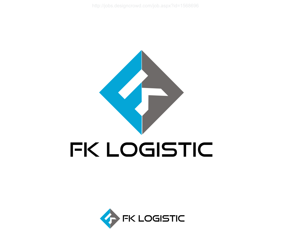 Professional Elegant Freight Forwarding Logo Design For