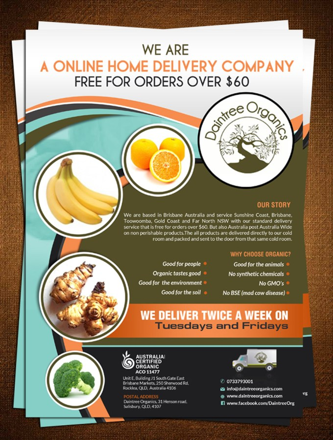 Upmarket Elegant It Company Flyer Design For A Company By Creative Bugs Design 7925570