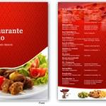 Traditional Colorful Restaurant Menu Design For Como En El Rancho S A De C V By Mas Design 2013314
