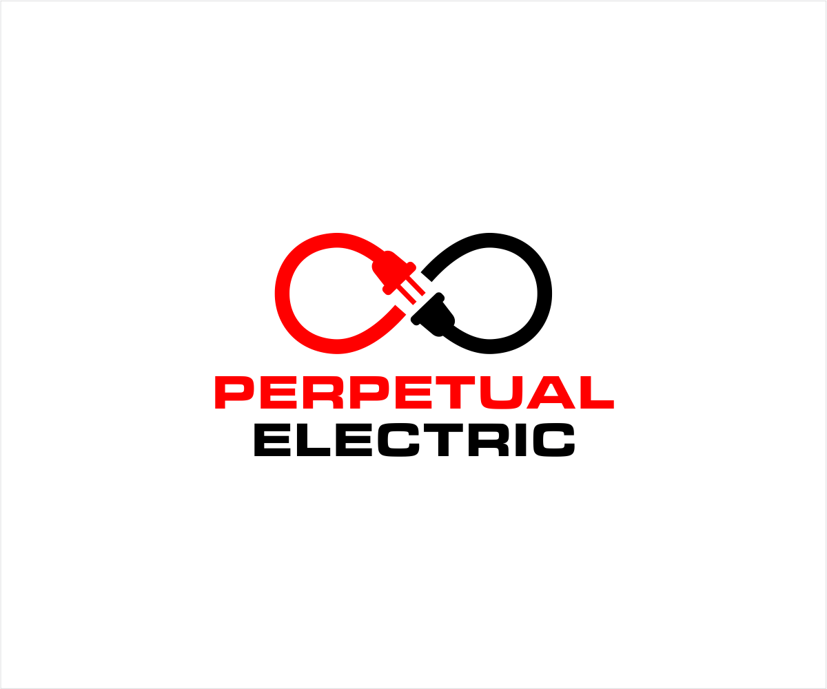 Masculine Modern Electric Company Logo Design For