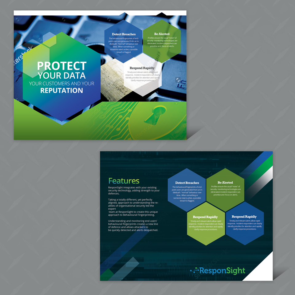 Bold Modern Business Flyer Design For A Company By
