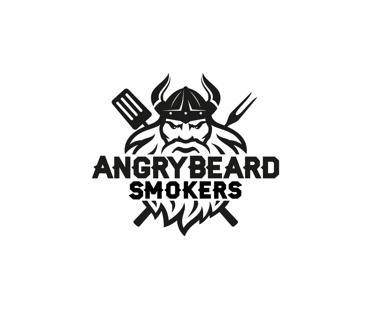 127 Bold Masculine Logo Designs For Angry Beard Smokers A