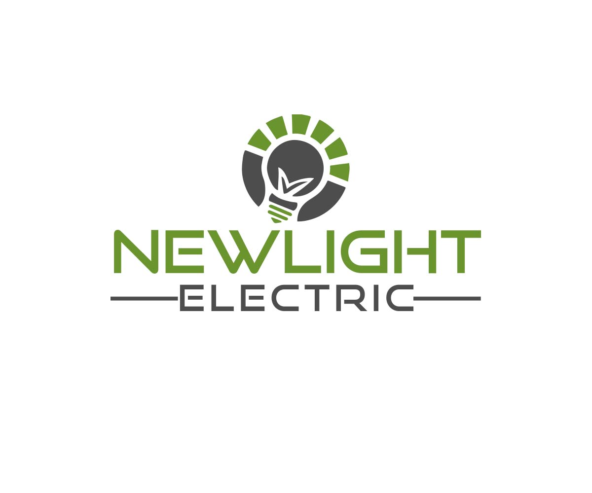 Serious Modern Electrical Logo Design For Newlight