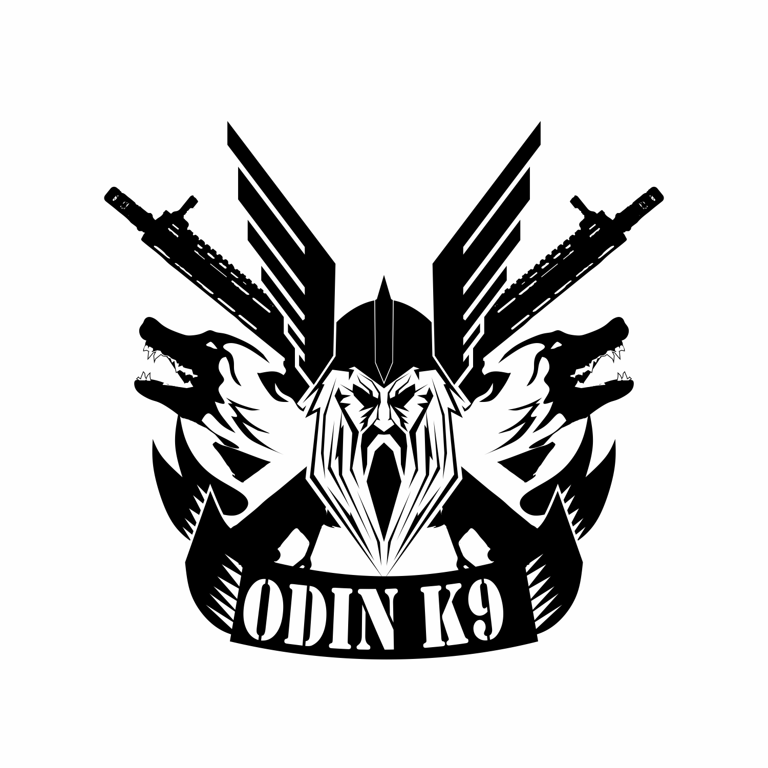 Serious Modern Dog Training Logo Design For Odin K9 By