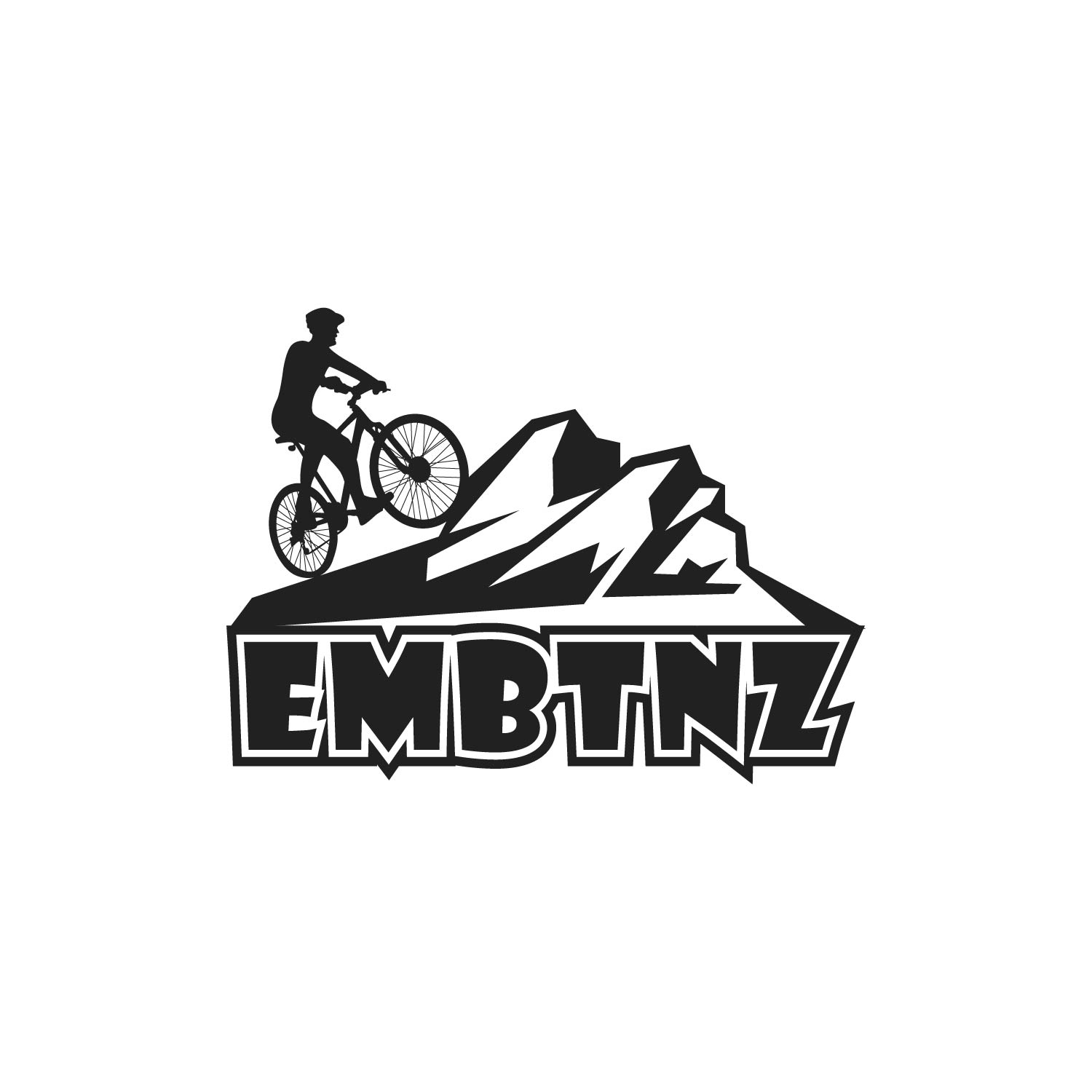 Logo Design For Embtnz Electric Mountain Bike Tours Nz