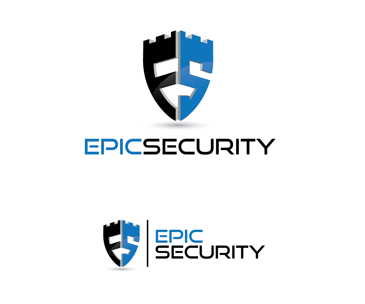 Security Logo Design For Epic Home Or Epic Security By