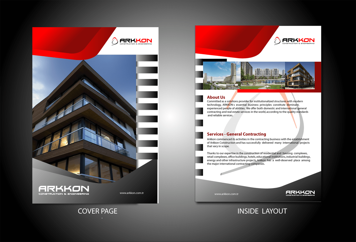 Modern Professional Catalogue Design For Fatih Aksin By
