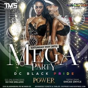 DC Pride Lesbian Mega Party