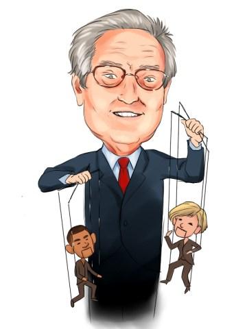 George Soros puppet master