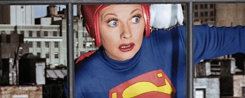 I Love Lucy Superman Episode To Air In Color Dc Comics Movie