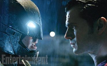 If you're going toe-to-toe with the son of Jor-El, you better come correct. For his climactic rooftop brawl with Superman, Batman outfits himself with a reinforced mech-suit equipped with strength-augmenting armor and, yes, kryptonite. The design resembles the one used for the confrontation between these two in Frank Miller's The Dark Knight Returns.