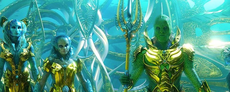 First Look at the Fisherman King in Aquaman – DC Comics Movie