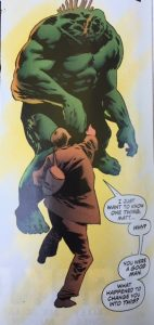 Swamp Thing 6 Holland vs Cable