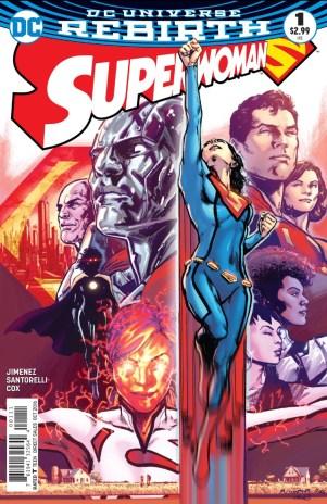 Superwoman 1 cover