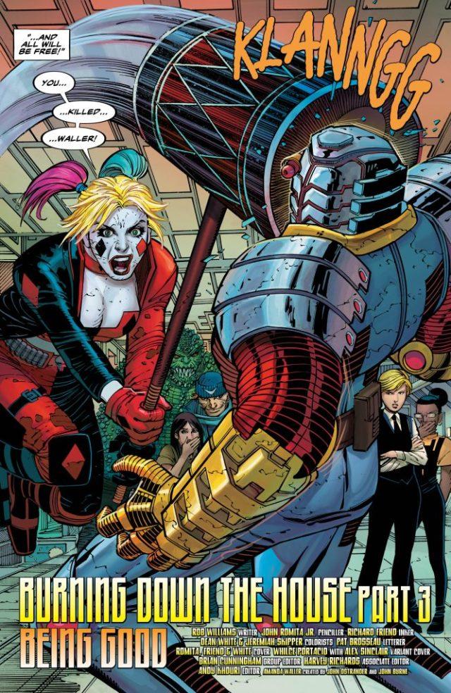 Suicide Squad #13 Review