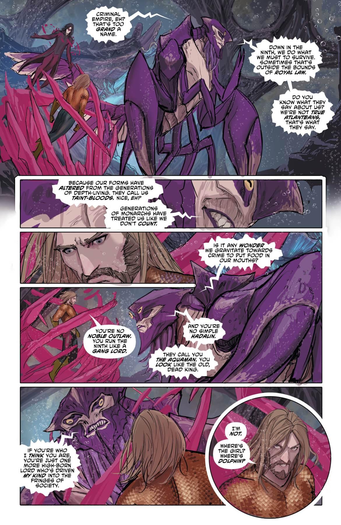 Aquaman Page 4 - DC Comics News