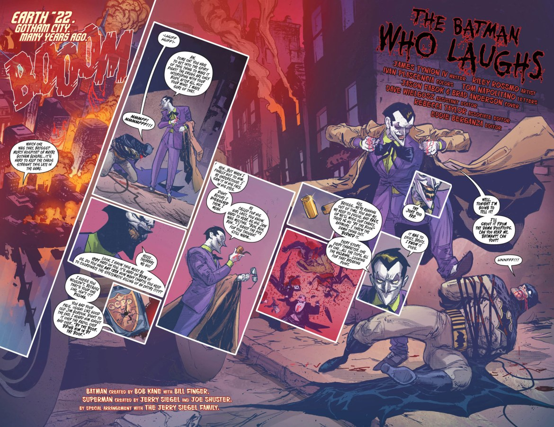 The Batman Who Laughs 2-3 - DC Comics News