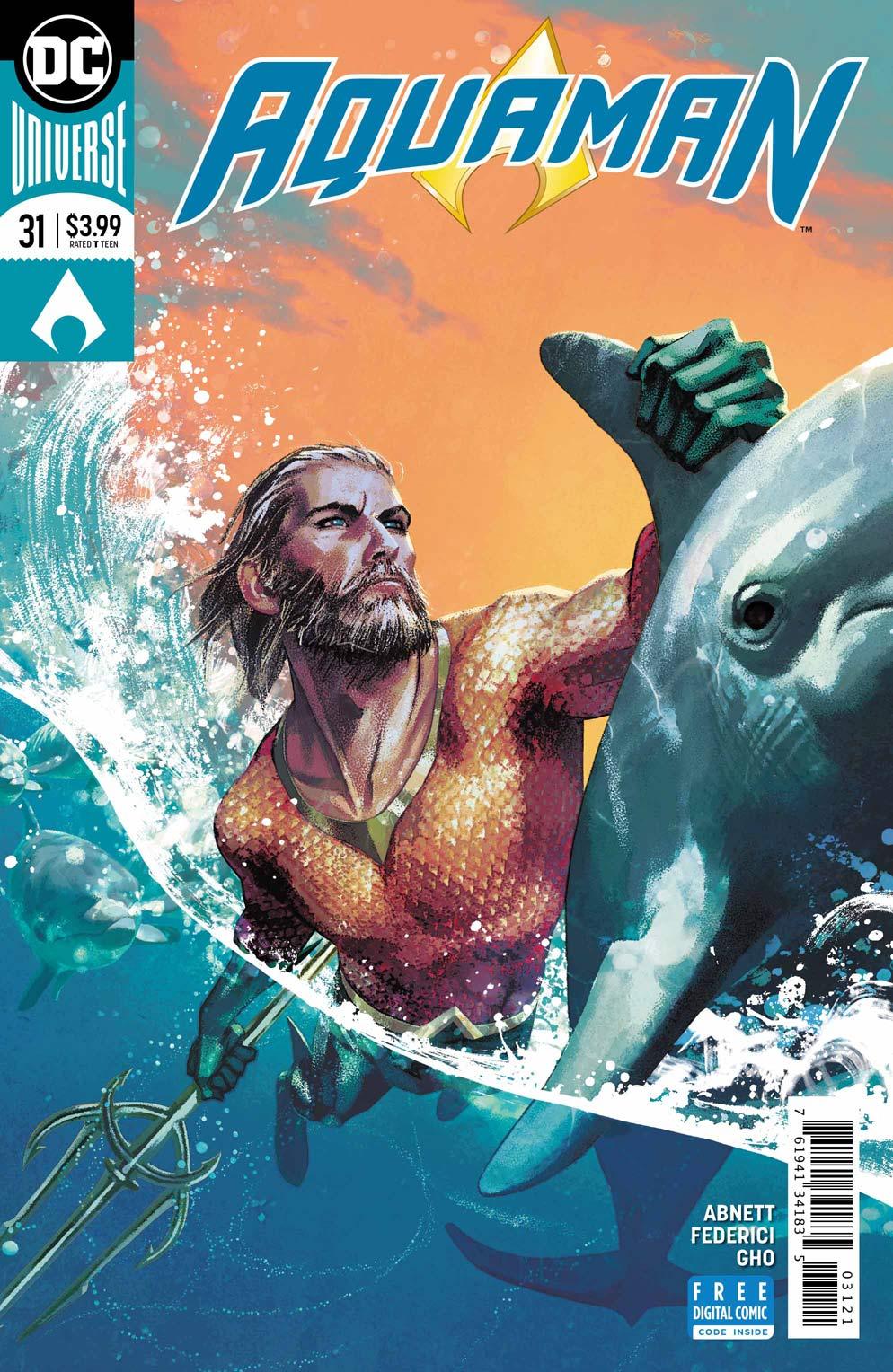 Aquaman 31 Variant - DC Comics News