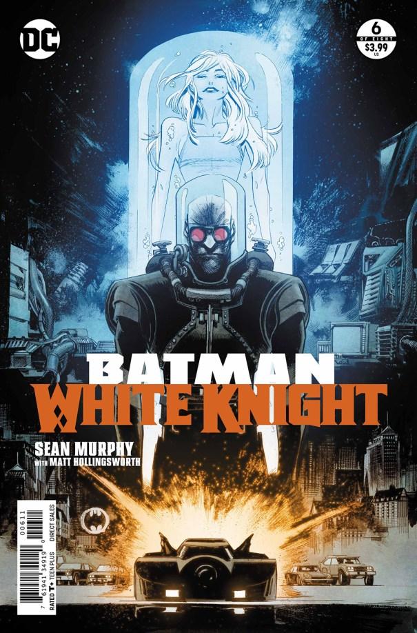 Batman White Knight 6 Cover - DC Comics News