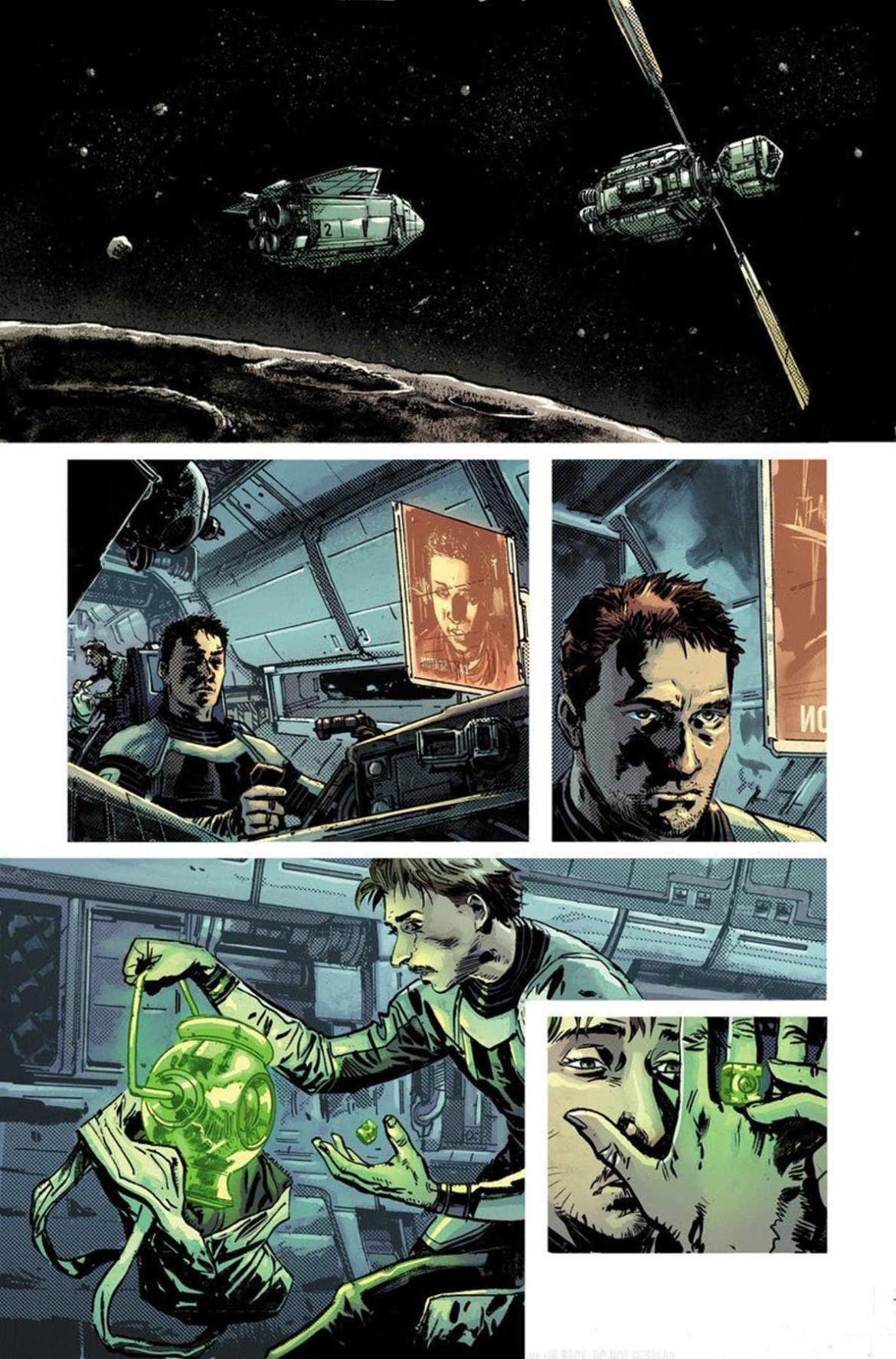 Green Lantern Earth One 1 - DC Comics News