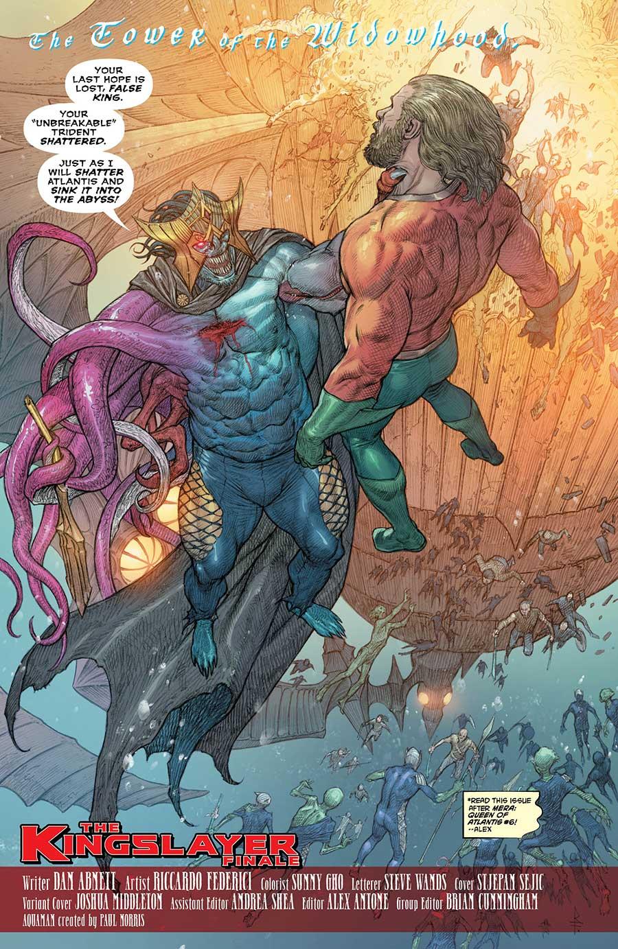Aquaman 38-1 - DC Comics News