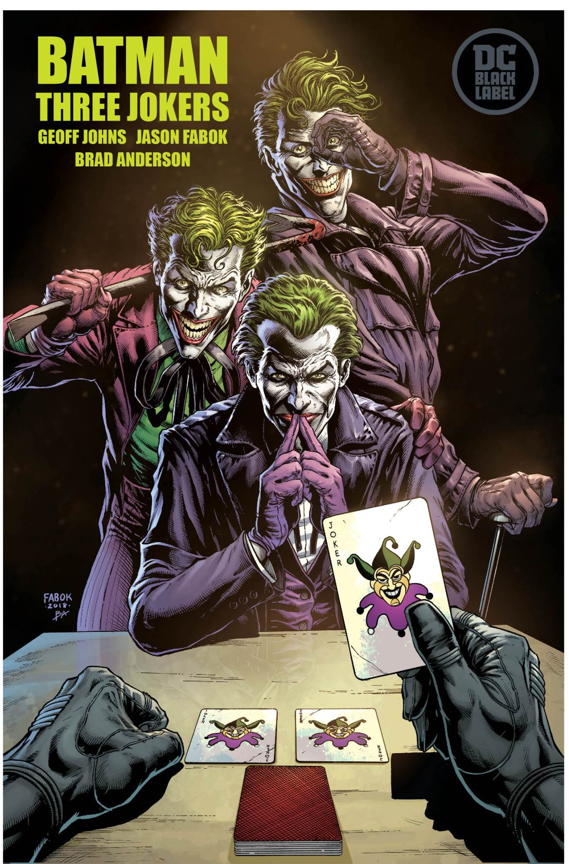 sdcc2018 dc comics news three jokers