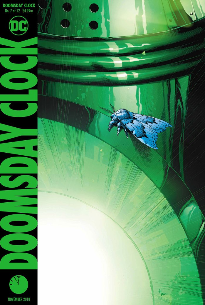 Doomsday Clock 7 - Cover - DC Comics News