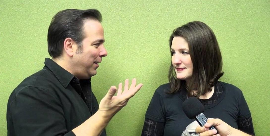 Jimmy Palmiotti and Amanda Conner
