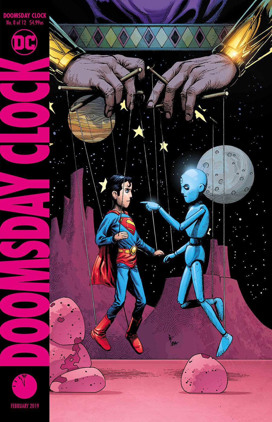 Doomsday Clock 8 - Cover 2 - DC Comics News