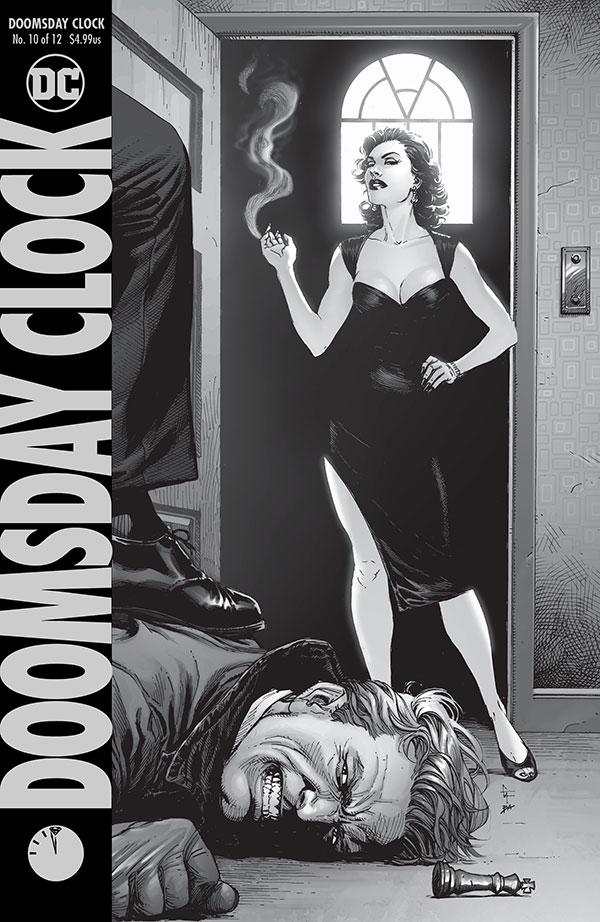Doomsday Clock 10 - Cover