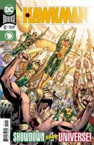 Hawkman 12 - Cover