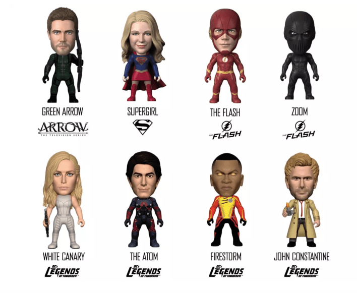 titan comics arrowverse figures
