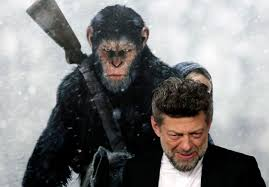 Andy Serkis as Cesar in Plant of the Apes