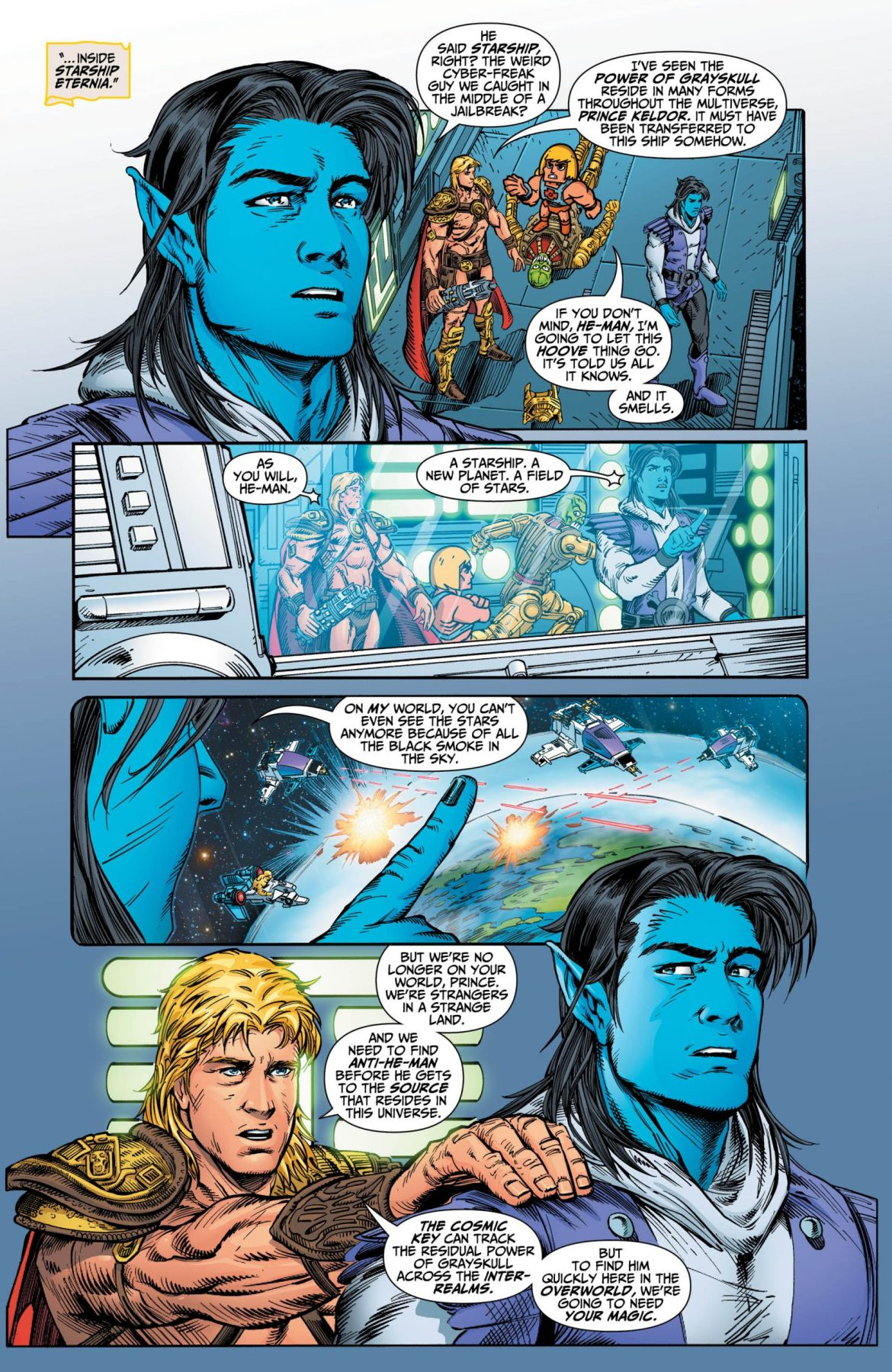 He-Man and the Masters of the Mulitverse #2