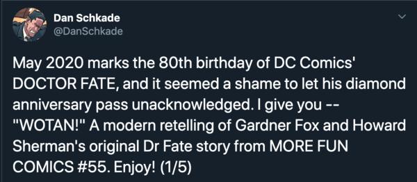 Dan Schkade Doctor Fate