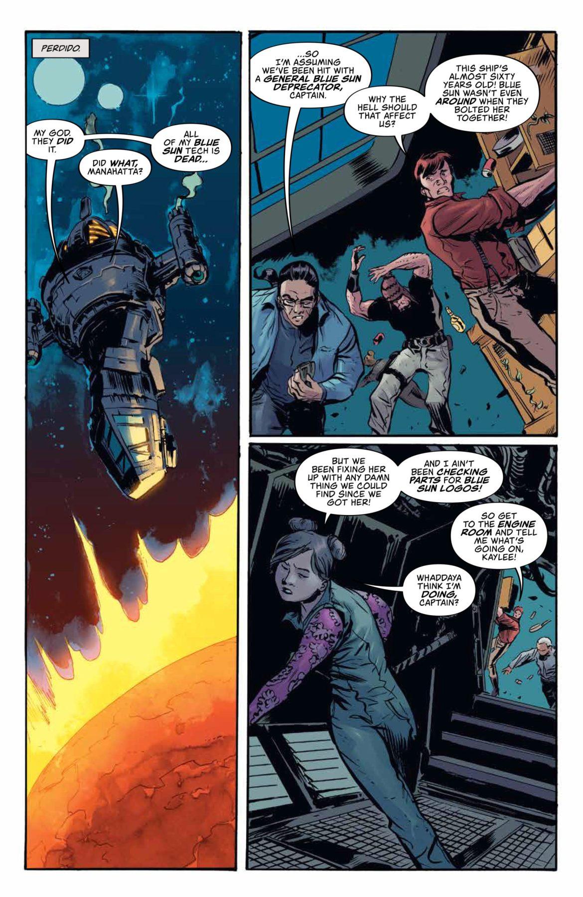Firefly Blue Sun Rising #1 Dc Comics News