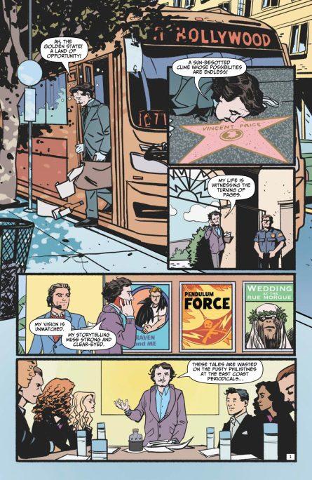 Edgar Allan Poe's Snifter of Blood #4 p1 DC Comics News