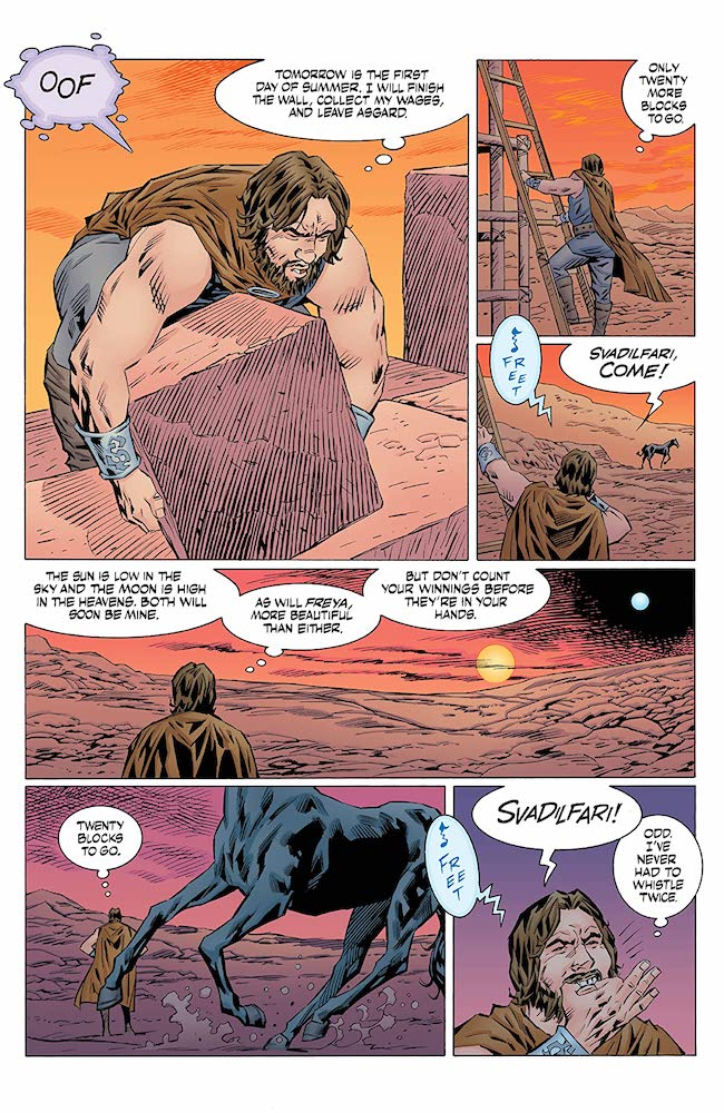 Review: Norse-Mythology-#4-The-Trouble-With-Horses-DC-Comics-News-Reviews